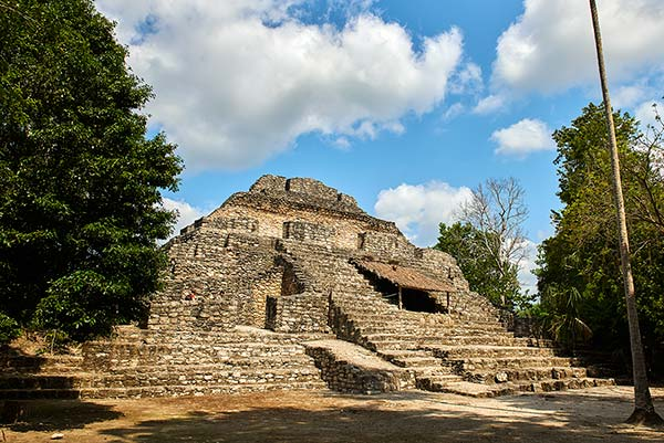 Chacchoben's Temple 24